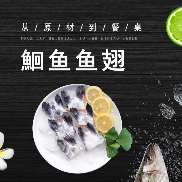 食材鮰鱼翅