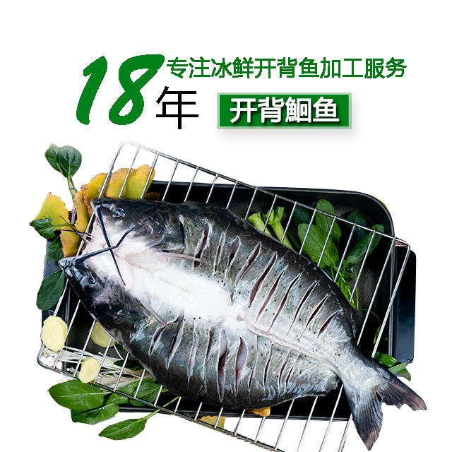 三珍食品18年专注冰鲜开背鱼精深加工服务