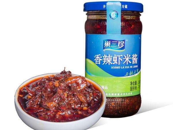 巢三珍香辣虾米酱
