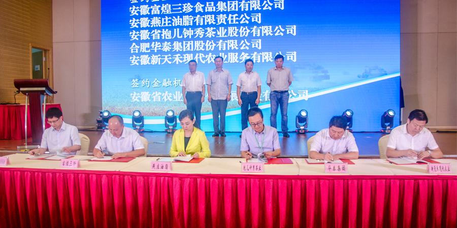 富煌三珍食品集团亮相中国安徽名优农产品暨农业产业化交易会