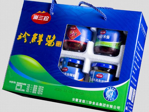 巢三珍珍鲜酱礼盒