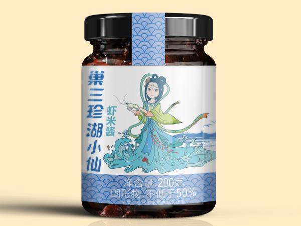 巢三珍湖小仙虾米酱