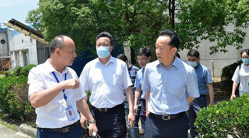 安徽省市场监管局副局长张志宏一行莅临富煌三珍调研