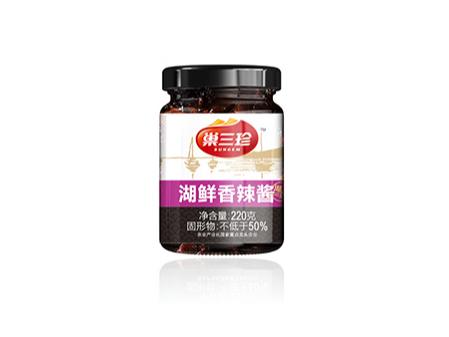 巢三珍尚品湖鲜香辣酱