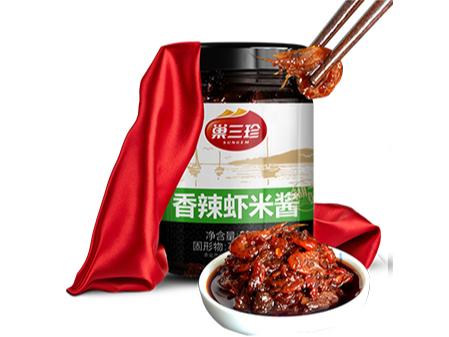 巢三珍尚品香辣虾酱